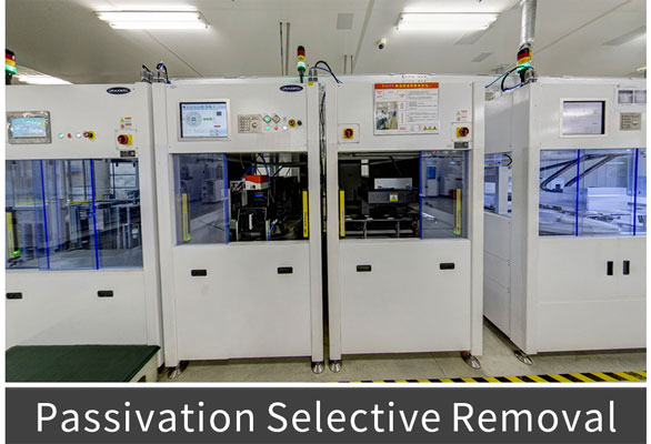 Passivation Selective Removal