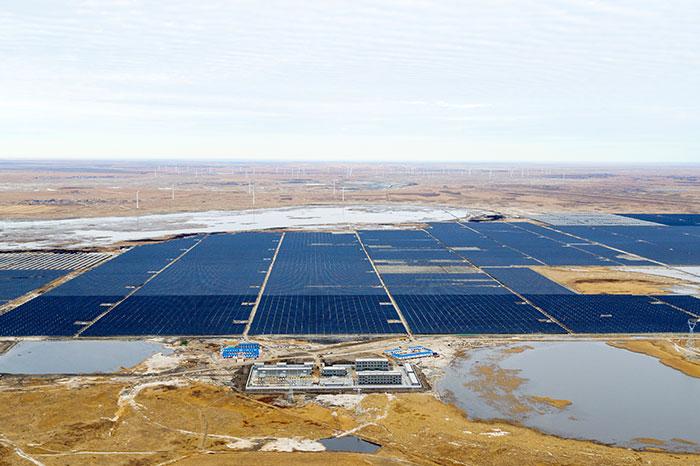 Top Runner Project in Baicheng solar module project