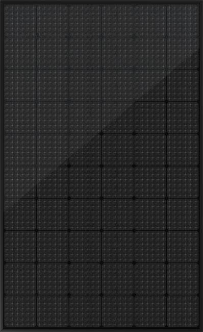 N60H 330-350W MWT All Black Module Mono 60 Cells